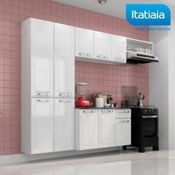 Cozinha Itatiaia Amanda Compacta 4 Pecas Branco Nevada Magazine