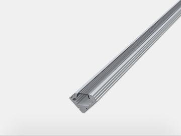 Led Alu Profil Ek Eloxiert 200cm Inkl Abdeckung Klar Led Profil Led Technik Led