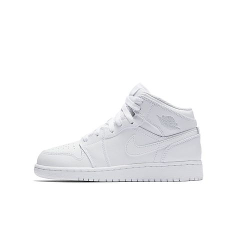 5b1d95144413b Air Jordan 1 Mid Big Kids  Shoe