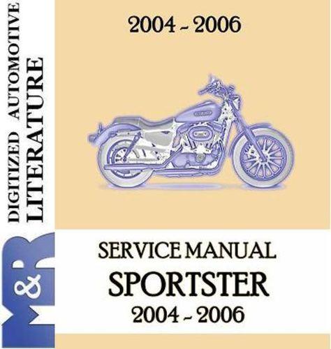2004-2006 Harley Davidson Sportster Service-Shop Manual ... on