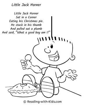 Nursery Rhymes Coloring Pages Nursery Rhyme Crafts Nursery