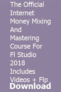 The Official Internet Money Mixing And Mastering Course For