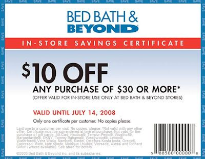 Free Printable Coupons  Bed Bath and Beyond Coupons. 7 best Bed  Bath   Beyond images on Pinterest   Coupon codes  3 4