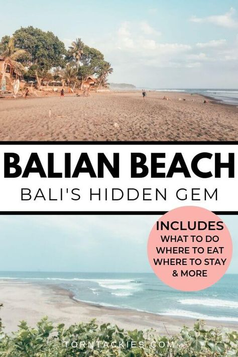 Is Balian Beach in Bali the best beach on the island? Read this travel guide to find out! bali indonesia | bali beaches | bali places to visit | bali things to do | best places in bali | bali trip | bali travel guide | asia travel | bali indonesia travel | travel to bali | blog by Torn Tackies Travel Blog #bali #indonesia #travel #inspiration #balitraveltips