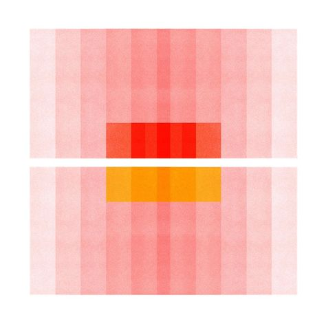 """Color Space Series Pink, Red, Yellow"" Abstract Print by Jessica Poundstone, Josef Albers, Anni Albers, Fran Silvestre, Space Series, Expressionist Artists, Abstract Expressionism, San Francisco Museums, Picasso Paintings, Art Paintings"
