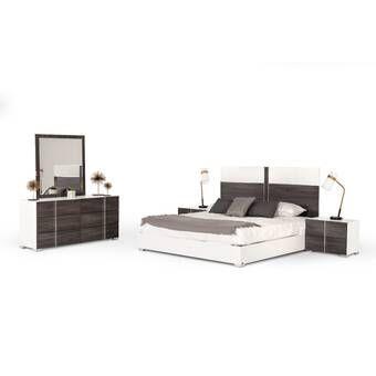 Orren Ellis Sifuentes Platform Configurable Bedroom Set Wayfair In 2020 Bedroom Set 5 Piece Bedroom Set Bedroom Sets