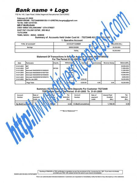 Bank Statement PSD Bank Statement PSD Pinterest Bank statement - sample bank statement