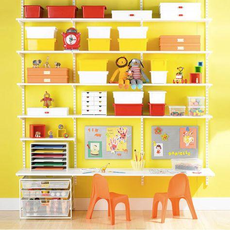 kid shelves love this idea!
