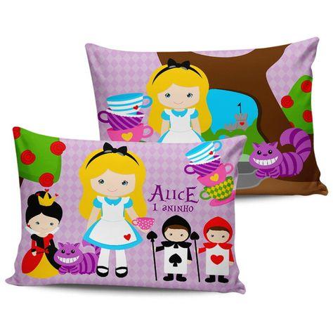 Almofadas Alice No Pais Das Maravilhas Alice Aniversario De