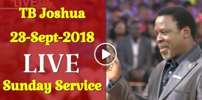 TB Joshua LIVE Sunday Service 23December2018 At The SCOAN