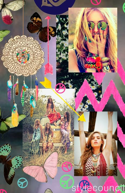 Style Council- Bohemian Girl - Junior Graphic Inspiration Boards