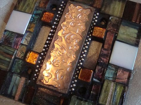 MOSAIC LIGHT SWITCH Plate Cover Double Earth by ...