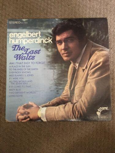 Details About Engelbert Humperdinck The Last Waltz 1967 Vinyl