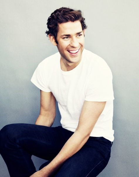 john krasinski.  please tell me he has an identical personality twin out there...