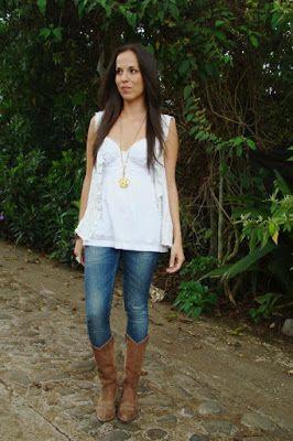 60% barato diseñador nuevo y usado nuevo lanzamiento Botas vaqueras con jeans | moda informal | Botas vaqueras ...