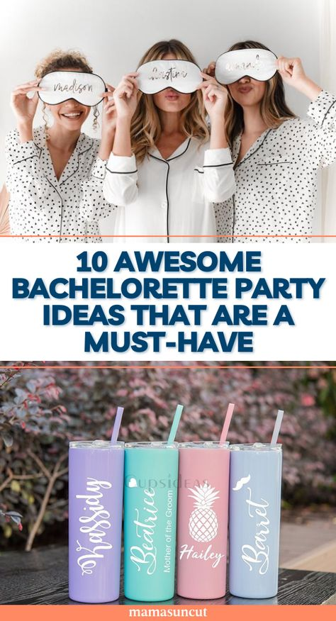 No matter the theme of the bachelorette party, this list of customizable items is a perfect start to an incredibly fun weekend!