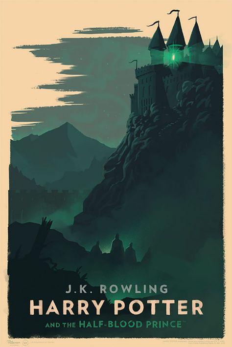 Des-couvertures-de-livres-de-Harry-Potter-style-vintage-par-Olly-Moss-6 Des couvertures de livres de Harry Potter style vintage par Olly Moss