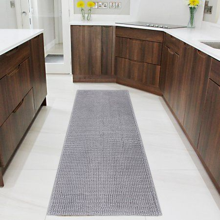 Lifewit Bath Runner Rug Chenille Area Mat Rugs For Bathroom