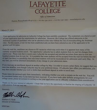 College Admission Acceptance Letter  Google Search  Work Stuff