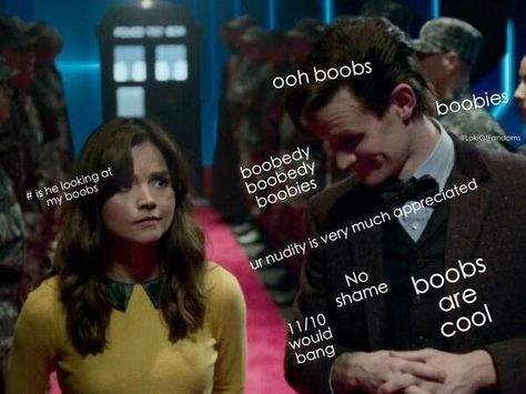 dr who boobs