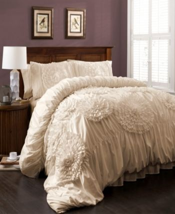 Lush Décor Serena Comforter 3pc Sets