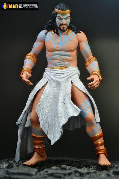 Poseidon God Of War Custom Action Figure God Of War Custom Action Figures Poseidon
