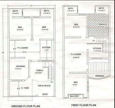 42 Trendy House Design Plans Pakistan Model House Plan House Map 10 Marla House Plan