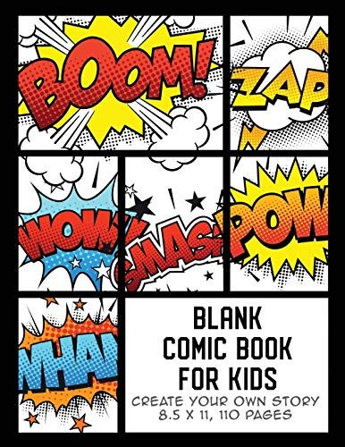 Blank Comic Book For Kids Create Your Own Story Comics Https