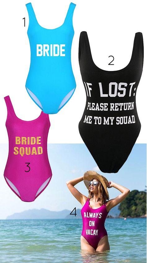 15 Best One Piece Bachelorette Swimsuits (+ Cheap