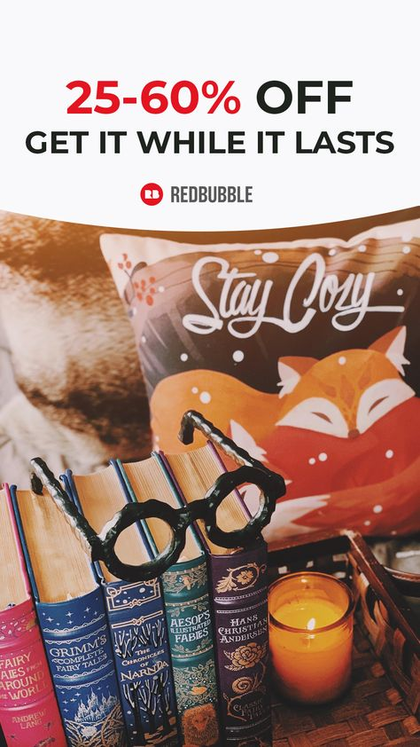 Redbubble: 25-60% off gifts that get them.