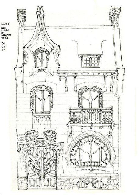 54 nancy 1900  architecture art deco  art nouveau