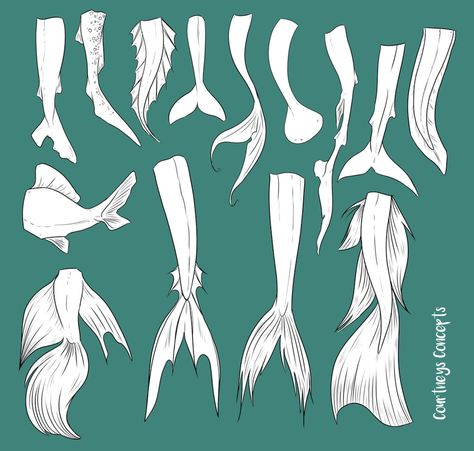 Meerjungfrauen Mermaid Tail Reference by CourtneysConcepts on DeviantArt Drawing CourtneysConcepts DeviantArt Meerjungfrauen mermaid mermaid Drawing Reference Tail Mermaid Tail Drawing, Mermaid Drawings, Mermaid Art, Mermaid Drawing Tutorial, Mermaid Sketch, Mermaid Pose, Realistic Mermaid Tails, Fairy Drawings, Art Drawings Sketches