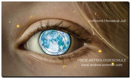 VOLLMOND JULI - Magic Moon - Spirituelle Ausbildungen und Coaching Astrologieschule Kartenschule