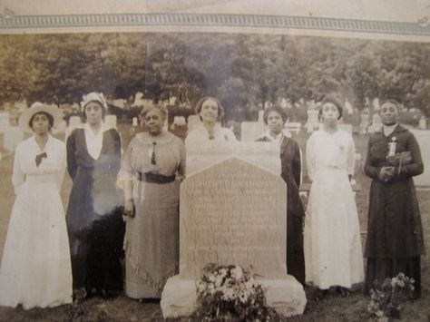 Harriet Tubman's funeral was held in Auburn after she died March 13, 1913.                                family photo
