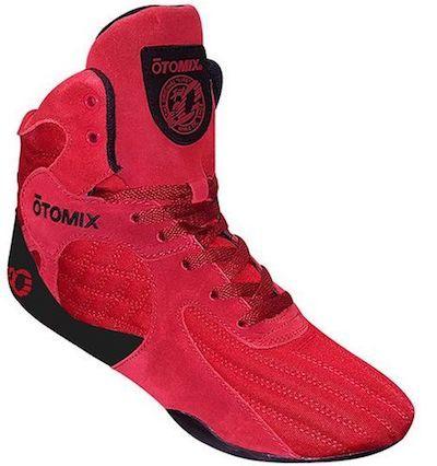Otomix Red bodybuilding shoe