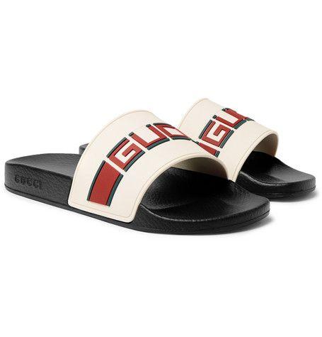 RUBBER SLIDES. #gucci #shoes # | Gucci