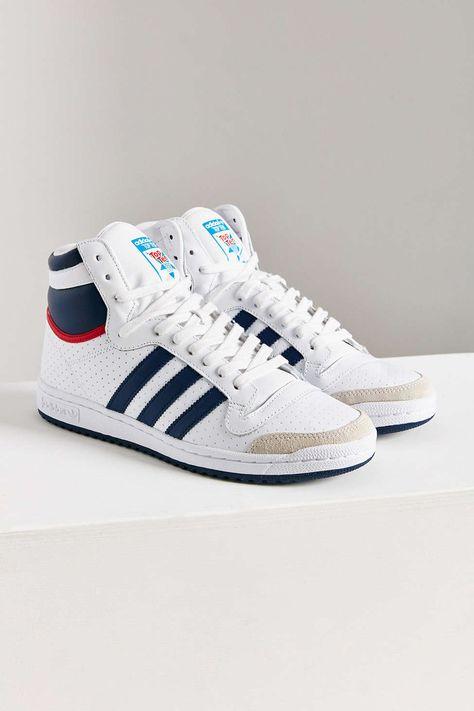 a06e32e5f93 adidas Originals Top Ten Hi High Top Sneaker