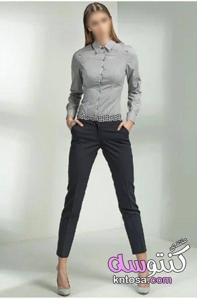 بالصور ملابس كاجوال للبنات 2019 ملابس صيفيه روعه ملابس كاجوال للبنات ملابس كاجوال على كنتوسه 2019 Kntosa Com 23 19 155 Fashion Pantsuit Suits