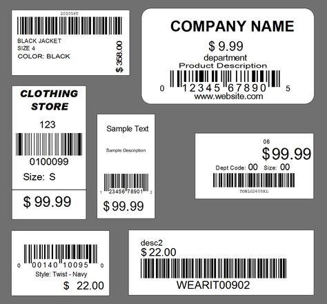 clothing tag design examples - Google Search Graphic Design - product label sample