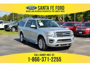 2017 Silver Ford Expedition El Limited 38341p Ford Expedition