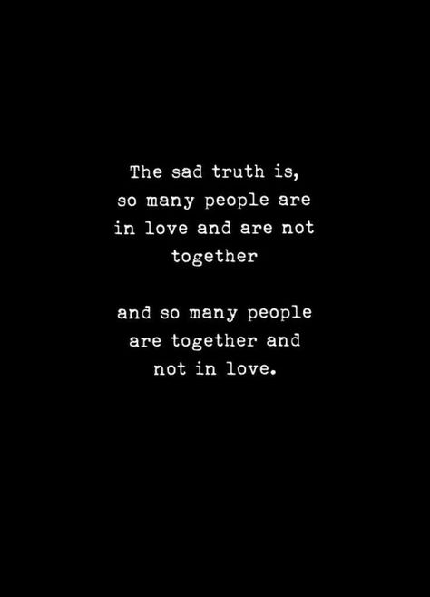The SAD TRUTH..... ???? #dailyquotes #relationship