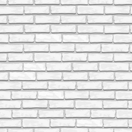 White Brick Wall Texture Seamless Vector Illustration Brick Seam Stock Aff Wall Texture White Brick In 2020 White Brick Walls Textured Walls White Brick