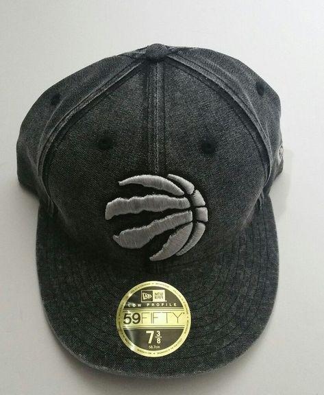 Toronto Raptors New Era 59fifty Low Profile Faded Team NBA Fitted Hat Size  7 3 8 f7fcf687fc73
