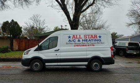 All Star Air Conditioning Heating In Fairfield Ca California
