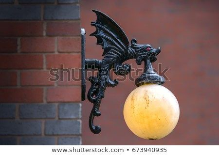 Find Victorian Gargoyle Dragon Outdoor Light Fixture Stock Images In Hd And Millions Of Other Royalty Fr Outdoor Light Fixtures Light Fixtures Outdoor Lighting