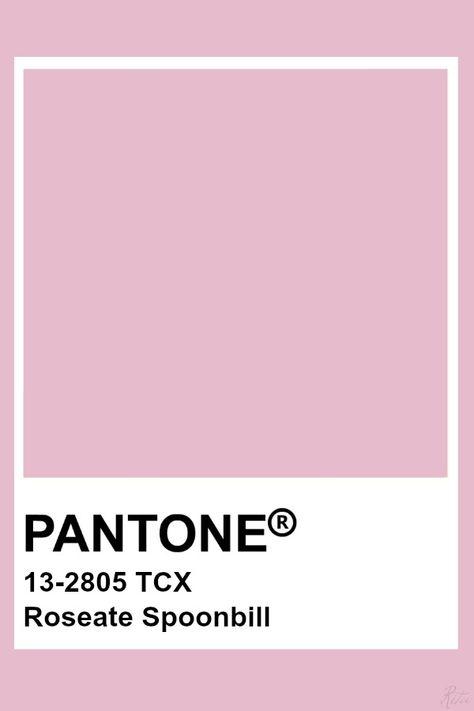 Pantone Roseate Spoonbill