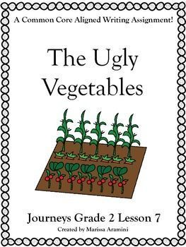 The Ugly Vegetables-Journeys Grade2-Lesson 7   Sailin' in Second