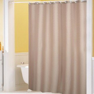 Hotel Quality Waffle Weave Fabric Shower Curtain 70 X 72 Sage