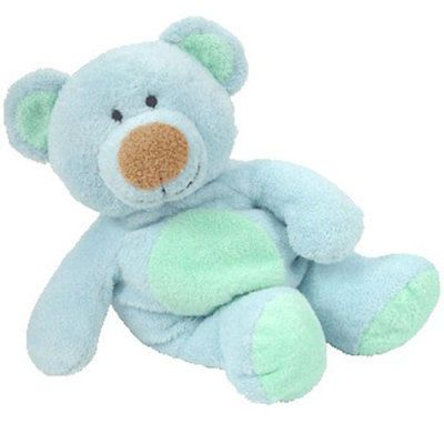 """Ty Pluffies~12/""""~Chomps the Green Alligator~1st Generation~No Heart Tag"""