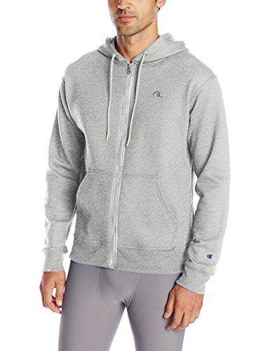 Champion Mens Fleece Full Zip